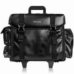 SHANY Makeup Artist Soft Rolling Trolley Cosmetic Case with