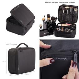 ROWNYEON Makeup Bag Cosmetic Case Travel Organizer/Mini Trai