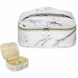 Makeup Bag Organizer Case Travel Cosmetic Portable With Remo
