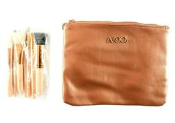 Zocva Makeup Bag With Brushes Cosmetic Organizer Set For Tra