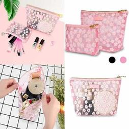 Zakaco Makeup Bags For Women PINK Cute Cosmetic Pouch Purse