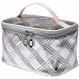 Makeup Cosmetic Bags Train Case Travel Storage Small 157sg-y