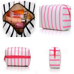 HOYOFO Makeup Pouch Travel Cosmetic Bag Daily Essentials Sto