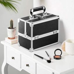 makeup train case travel cosmetic box organizer
