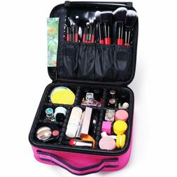 Docolor Makeup Train Cases Cosmetic Case Professional Travel