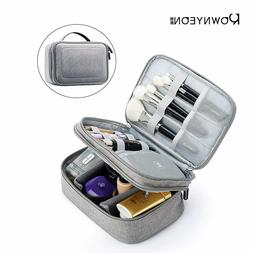 Rownyeon Makeup Train Cases Travel Makeup Bag Waterproof Por