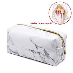 DZT1968 Marble Cosmetic Bag Portable Zipper Casual Travel To