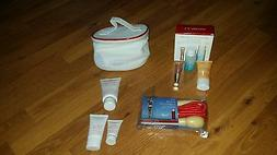 Clarins Mixed Lot Body Scub, Lipstick & Beauty Flash with Fr