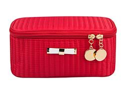 Alsomtec Multi-function Makeup Cosmetic Bag single layer wit