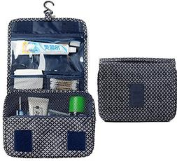 L&FY Travel Toiletry Bag Cosmetic Makeup Pouch Toiletry Case
