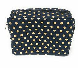 N. Gil Large Travel Cosmetic Makeup Bag