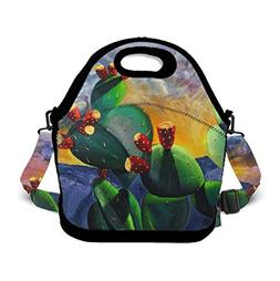 Lunch Bag Box Insulated Lunch Tote Bag Cooler with Zipper -