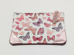 "NEW IPSY Butterfly Makeup Cosmetic Bag April 2018 7"" X 5"" BA"