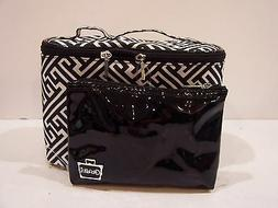 NEW CABOODLES CASE MAKEUP ORGANIZER 2 pc travel lunch box to