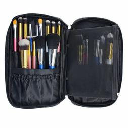 new cosmetic makeup brush bag case handle