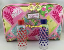 New! Estee Lauder Lilly Pulitzer  Makeup Bag with Top Handle