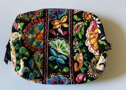 NEW NWT VERA BRADLEY MIDNIGHT WITH MICKEY LARGE COSMETIC BAG