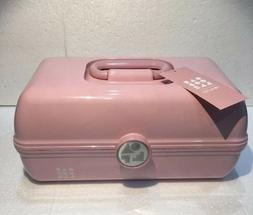 NEW CABOODLES ON THE GO GIRL RETRO MAKEUP TRAVEL CASE ORGANI