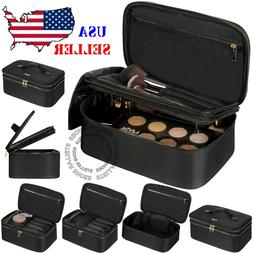 NEW Professional Makeup Bag Cosmetic Case Storage Handle Org