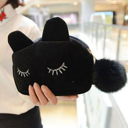 New Style Bag For Travel Makeup Bag Beauty Case Cat Cosmetic