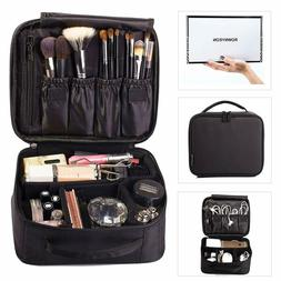 New Travel Cosmetic Makeup Artist Mini Black Case Portable S