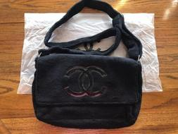 NEW CHANEL Vip Gift Precision Velour Makeup Crossbody should