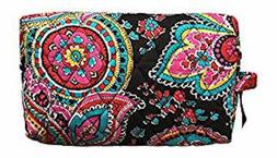 New With Tags Vera Bradley Large Cosmetic Makeup Case Bag -