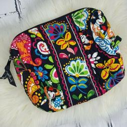NEW WOT VERA BRADLEY MIDNIGHT WITH MICKEY LARGE Makeup COSME
