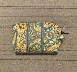 """NWOT Vera Bradley """"Lemon Parfait"""" Small Quilted Lined Ma"""