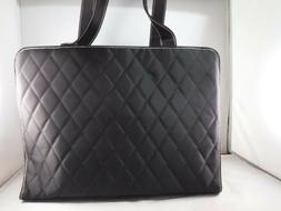 NWOT Mary Kay Makeup Consultant Black Shoulder Bag Quilted T