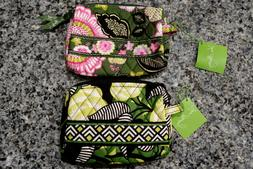 NWT Authentic Vera Bradley Small Cosmetic Bag Olivia Pink &