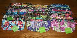 Vera Bradley Brush and Pencil Cosmetic Case Bag School Pouch