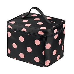 EN'DA Nylon Large Makeup bags Travel makeup bag with quality