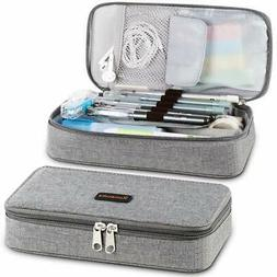 Homecube Pencil Case, Big Capacity Pen Case Desk Organizer w