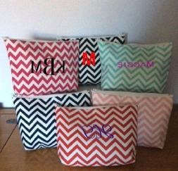 Personalized Chevron Cosmetic Bag ***FREE SHIPPING***