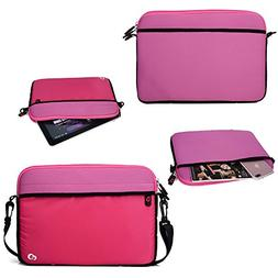 11 inch Pink Multi-functional Portable Carrying Bag / Should