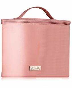 Philosophy Pink Train Case Cosmetic Cosmetics Toiletry Bag T