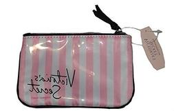 7f6a439b5aea Victoria s Secret Pink And White Stripes Coin Purse   Cosmet
