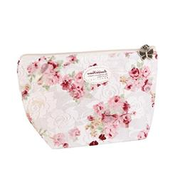 Hightider New Women Portable Travel Cosmetic Bag Makeup Case