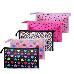 HP95 1 PC Portable Cosmetic Bag Cute Color Small Travel Make