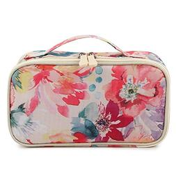 HOYOFO Portable Cosmetic Bags Traveling Makeup and Toiletry