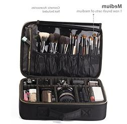 ROWNYEON Portable EVA Professional Make up Case Makeup Artis