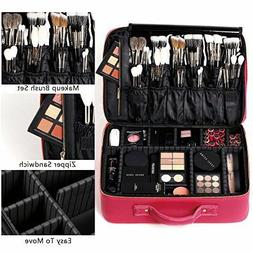portable makeup case eva professional artist train