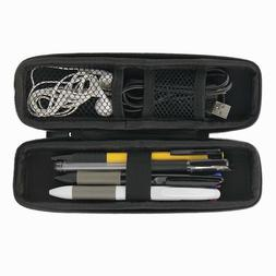 Portable Pen Pencil Case Hard Shell Holder Pouch Stationery