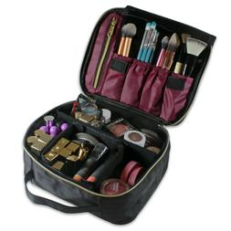 Portable Travel Makeup Train Case Makeup Bag Cosmetic Case A