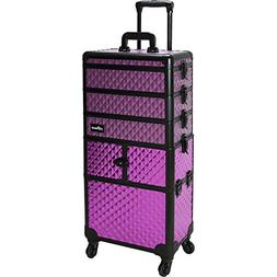 Sunrise Porto 2-In-1 Rolling Makeup Case Professional Nail T