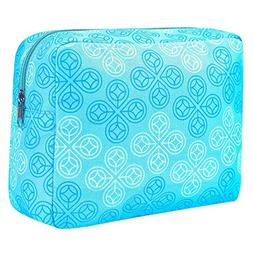 Natrulax Large Travel Cosmetic Pouch - Women's Portable Ba
