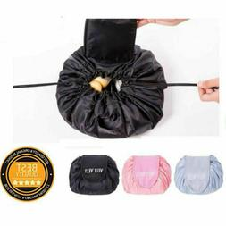 Practical Portable Makeup Drawstring Bag Large Storage Trave