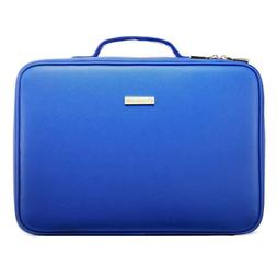 ROWNYEON Professional Makeup Bag Portable Makeup Artist BLUE