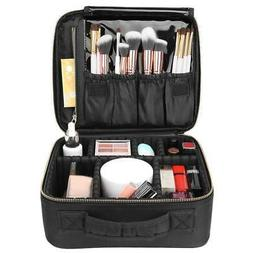 Professional Makeup Case Box Cosmetic Organizer Travel Large